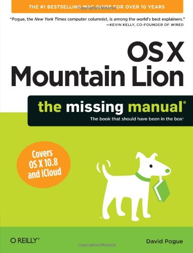 OS X: The Missing Manual, Mountain Lion Edition