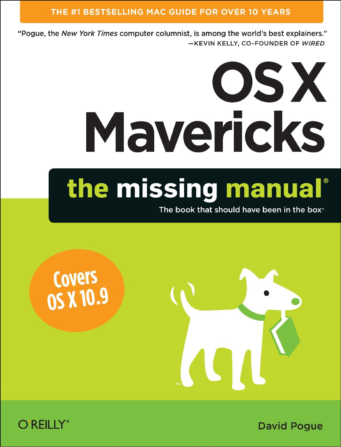 OS X: The Missing Manual, Mavericks Edition