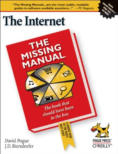 The Internet: The Missisng Manual