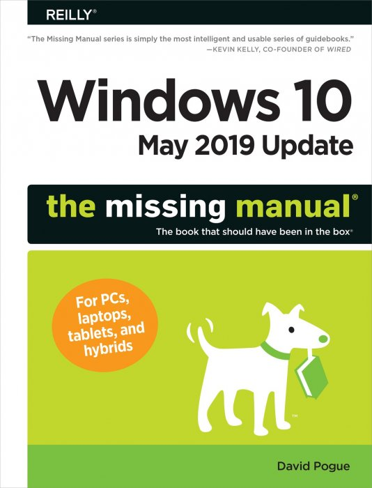 Windows 10 May 2019 Edition: The Missing Manual